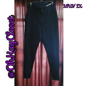 Hue- Original Denim Leggings, sz 1X/ 16W